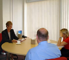Family Mediation session conducted by Mediation East's Mary Briggs